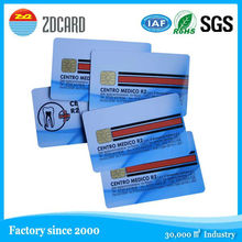 printing passive plastic ic smart card read and write
