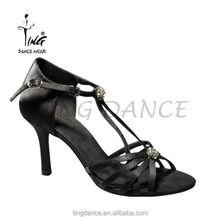 2015 nuovi all'ingrosso lucido di diamante della moda scarpe da ballo sala da ballo latino