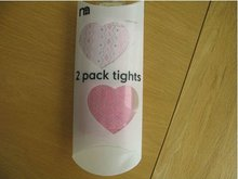 2012 New heart printed pillow box for baby tights