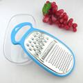 pskt4002a utensili da cucina multifunzione grattugia in acciaio inox con custodia di colore blu
