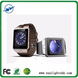 new smart watch phone dz09 with pedometer,sleep monitor,sedentary remind,anti lost