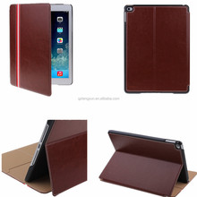 OEM factory for ipad air 2/ipad 6 pu leather printing case Wake/Sleep Function