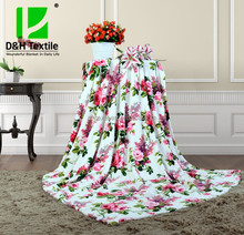 Cheap 100% Polyester Printed Blanket Made In China