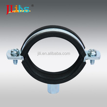 Welding iron sheet pipe Clamps M8+10 With Rubbe no bone