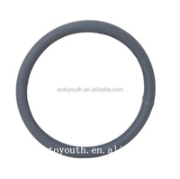 PA100030 popular 38cm leather steering wheel cover/car accessories