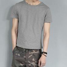 Man's organic cotton t shirts wholesale blank
