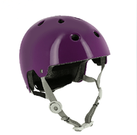 China manufacturer OEM colorful funky Skating EPS kids climbing bike helmet with light