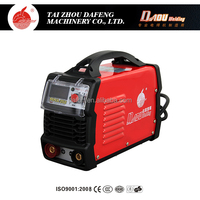 Plastic cover body dc arc inverter igbt 30n60 40n60 50n65 60% duty cycle welding machine