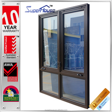 Superhouse High quality AS2047 standard casement window with fly screen