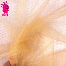 light yellow soft organza fabric voile tulle fabric lot DIY wedding bridal dress ball gown veil