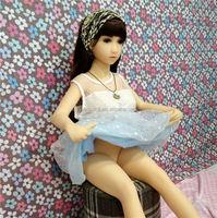 Mini Solid Silicone Sex Doll Cute Girl 108cm Real Love Doll For Man Masturbation