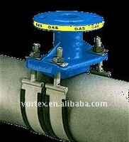saddle strape with double stainless steel band for steel pipe