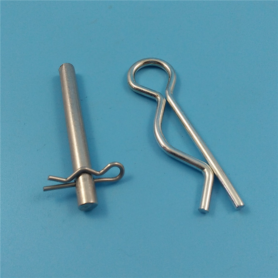Metal Wire Clips : Steel wave wire form clips r shape clip spring