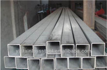 Hot promotion!! Decorative 304 Stainless Steel Square Pipe