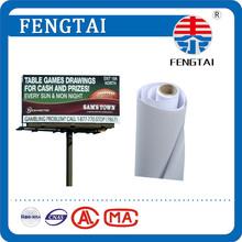 High Glossy 440gsm(13oz) 500D*500D 9*9 White PVC Canva