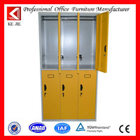 school/spa/gym center use four door clothes steel locker Metal steel locker gym electronic locker
