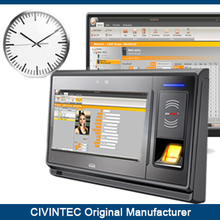 TCP/IP Biometric Fingerprint access control and time attendance system with RFID reader and printer, offer software and SDK