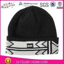 fashion grey 3d embroidery logo beanie hat winter hat custom crochet pattern knight helmet hat