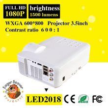 Mini led projector 1920x1080 hot sell trade assurance supply new product led projector new product led projector light