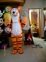 suppleir good quality tiger character cartoon plush adult costume