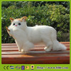 furry animals cat simulation decorative kitten standing cat stuffed toy