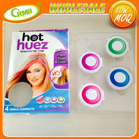4 colors temporary hair dye hair coloring chalk