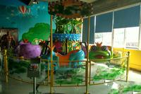 Children's Park Indoor amusement equipment ride horse/mini carousel