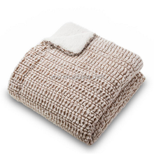 soft and cozy imitation carving PV plush thermal blanket for dubai wholesale market,ivory