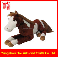 Wholesale stuffed animals large horse kids toys big plush horse