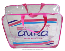 roseo clear wire rim frame pvc quilt printing bag