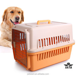 Perfect IATA approved 4 sides ventilative flight pet cages