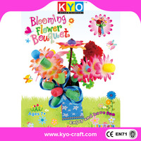 Factory supply flower easy make felt diy kits