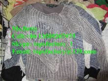 Mão em massa tricô roupas usadas roupas por atacado roupas usadas estados unidos