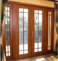 China Cheap Aluminum Large Patio Sliding Glass Door