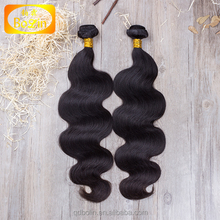 new arrival double weft 7a grade unprocessed raw indian hair vendor