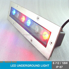 square / rectangle outdoor using 6w led rectang spot light pathway garden light