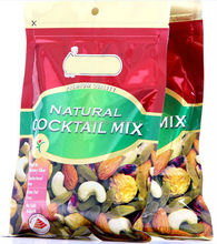 Nuts food Packaging Bag with Zipper
