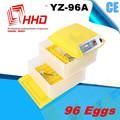 Venta caliente de huevo completamente automático incubadora / incubadora de pollo / incubadora de huevos en los Emiratos Árabes