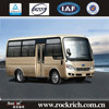 Euro 3 Front Engine Location Luxury Bus Interior Coaster Coach Bus For Sale