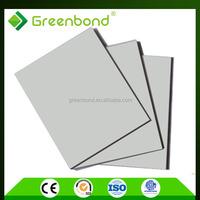 Greenbond standard 1.22m*2.44m aluminum composite panel for shower decoration