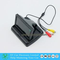 Folding car monitor 4.3 inch car TFT LCD monitor XY-2046