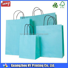 Coloured Twisted Cord Small Paper Carrier Bag