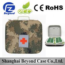 Military folding ambulance stretcher with carry bag