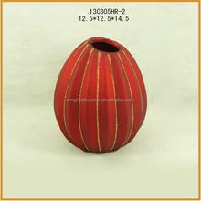new design small ceramic flower vases for sale