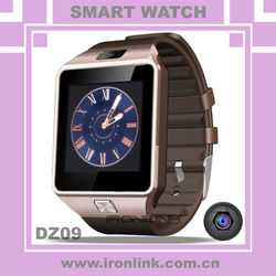 2015 Newest Arrived Bluetooth Smartwatch DZ09 Smart Watch for Android Smartphones