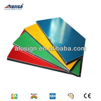 Alusign popular acm manufacturer decorative materials hot sell acm metal roof sheeting