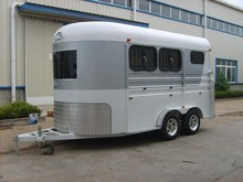 2 horse angle load trailer, living room, horse float