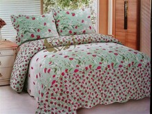 Beautiful colorful embroidery good quality design patchwork quilts
