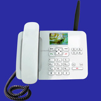 WCDMA/gsm wifi fixed wireless desktop phone with color screen KT1000(185)