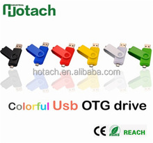 2015 New products Dual Port OTG USB Flash drive for mobile phone